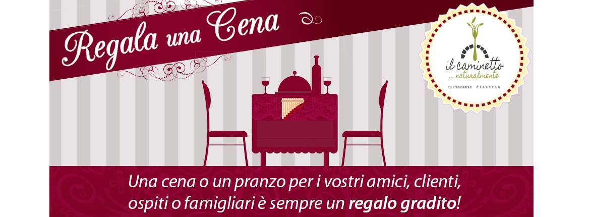 idea regalo originale natale 2017 - buono cena regalo